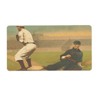 TOP Classic Baseball Label