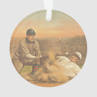 TOP Classic Baseball Ornament