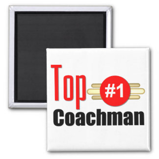 Top Coachman 2 Inch Square Magnet
