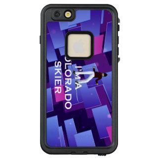 TOP Colorado Skier LifeProof® FRĒ® iPhone 6/6s Plus Case
