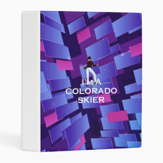 TOP Colorado Skier Mini Binder