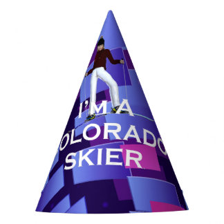 TOP Colorado Skier Party Hat