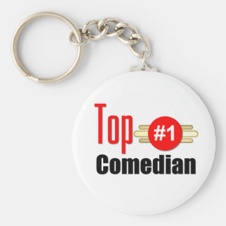 Top Comedian Keychain