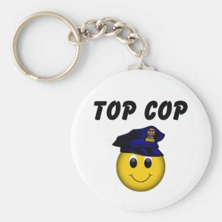 Top Cop Keychain