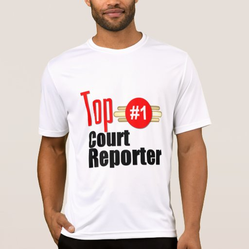 Top Court Reporter T Shirts