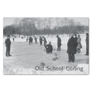 """TOP Curling Old School 10"""" X 15"""" Tissue Paper"""