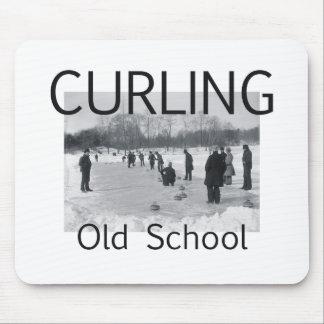 TOP Curling Old School Mousepads