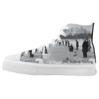 TOP Curling Old School Printed Shoes