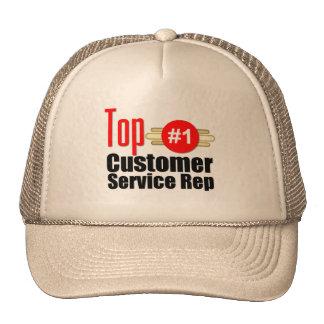 Top Customer Service Rep Trucker Hat