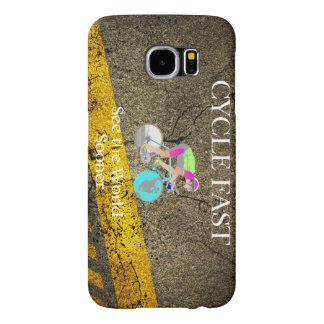 TOP Cycle Fast Samsung Galaxy S6 Case