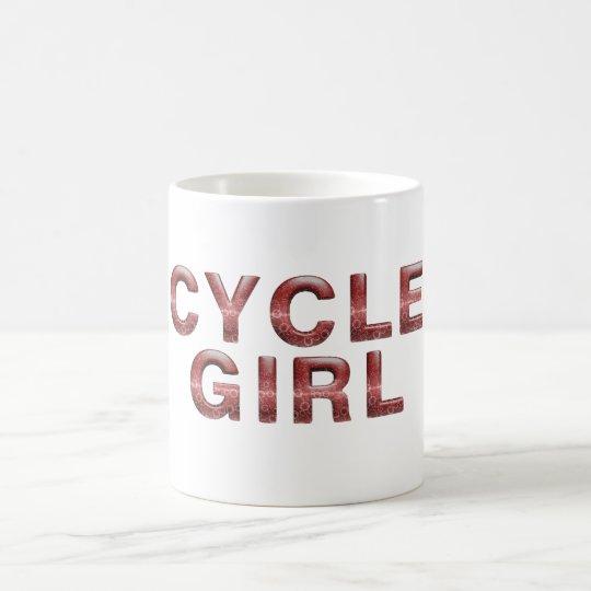 TOP Cycle Girl Coffee Mug