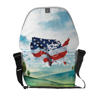 TOP Cycling in the USA Courier Bag