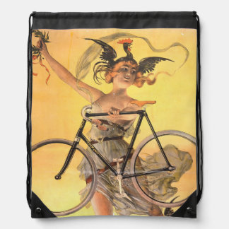 TOP Cycling Life for Me Drawstring Bag