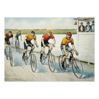 TOP Cycling Old School Large Business Cards (Pack Of 100)