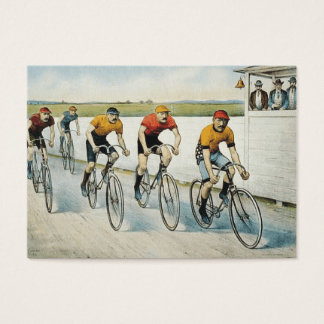 TOP Cycling Old School Business Card