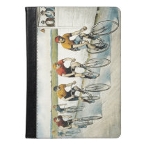 TOP Cycling Old School iPad Air Case