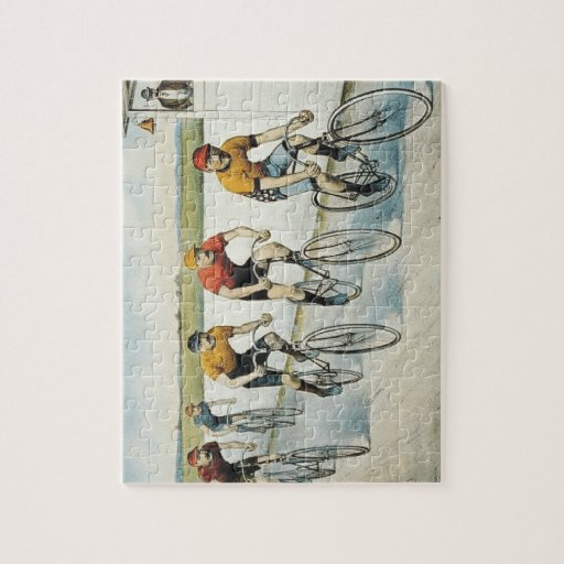 TOP Cycling Old School Jigsaw Puzzles