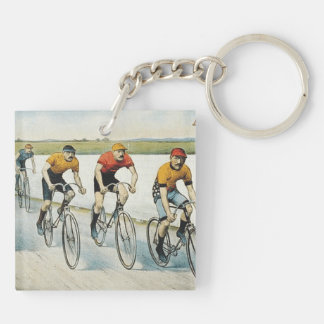 TOP Cycling Old School Keychain