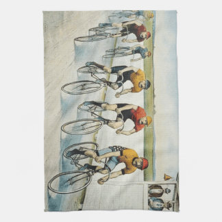 TOP Cycling Old School Kitchen Towel