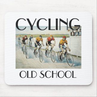 TOP Cycling Old School Mouse Pad
