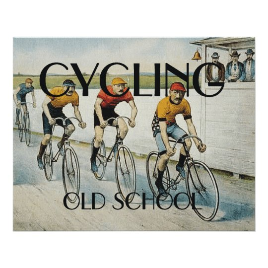 TOP Cycling Old School Poster