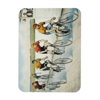 TOP Cycling Old School Rectangular Photo Magnet