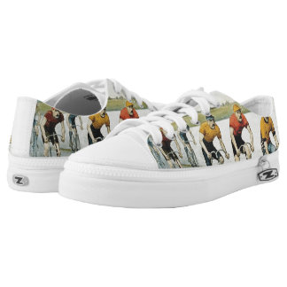 TOP Cycling Old School Printed Shoes