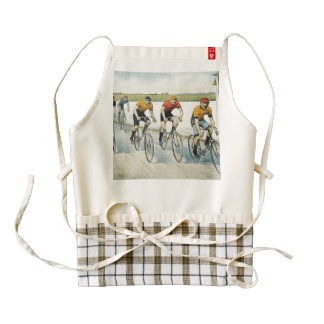TOP Cycling Old School Zazzle HEART Apron