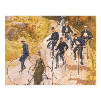 TOP Cycling Postcard