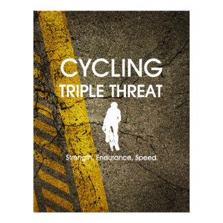 "TOP Cycling Triple Threat 8.5"" X 11"" Flyer"