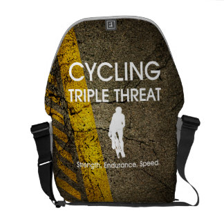TOP Cycling Triple Threat Courier Bag