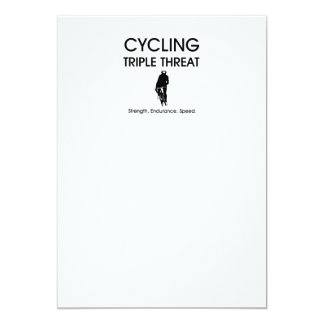 TOP Cycling Triple Threat Personalized Announcement