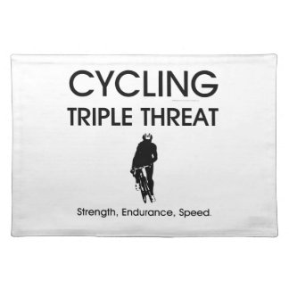 TOP Cycling Triple Threat Placemat