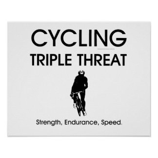 TOP Cycling Triple Threat Poster