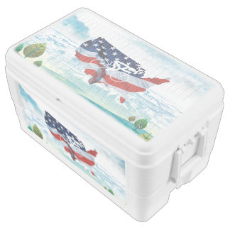 TOP Cycling USA Cooler