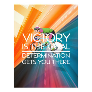 TOP Cycling Victory Slogan Flyer