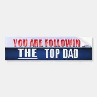 Top Dad bumper sticker Car Bumper Sticker