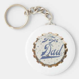 Top Dad Keychain