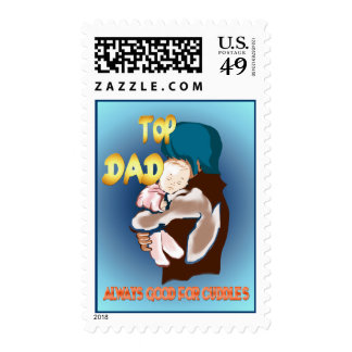 Top Dad Postage