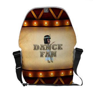 TOP Dance Fan Courier Bag