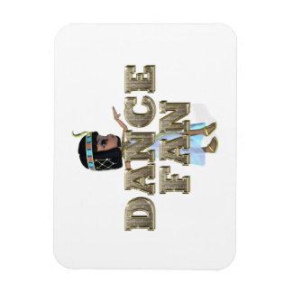 TOP Dance Fan Rectangular Photo Magnet