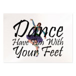 TOP Dance Fun Business Card