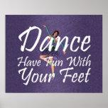 TOP Dance Fun Print