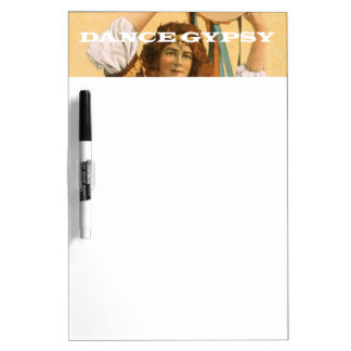 TOP Dance Gypsy Dry Erase Board