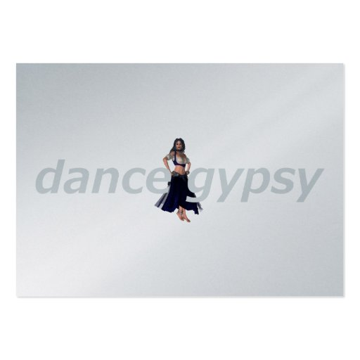 TOP Dance Gypsy Large Business Cards (Pack Of 100)