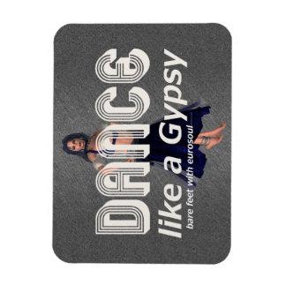 TOP Dance Gypsy Rectangular Photo Magnet