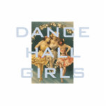 TOP Dance Hall Girls Standing Photo Sculpture