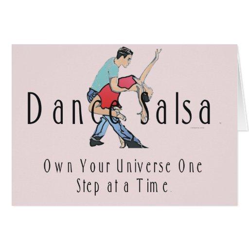 TOP Dance Salsa Card
