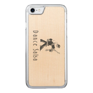 TOP Dance Salsa Carved iPhone 7 Case