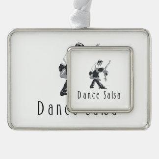TOP Dance Salsa Christmas Ornament